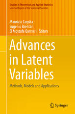 Advances in Latent Variables: Methods, Models and Applications