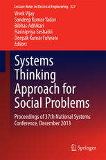 Systems Thinking Approach for Social Problems: Proceedings of 37th National Systems Conference, December 2013