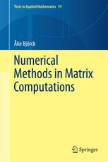 Numerical Methods in Matrix Computations
