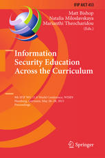 Information Security Education Across the Curriculum: 9th IFIP WG 11.8 World Conference, WISE 9, Hamburg, Germany, May 26-28, 2015, Proceedings