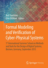 Formal Modeling and Verification of Cyber-Physical Systems: 1st International Summer School on Methods and Tools for the Design of Digital Systems, Br