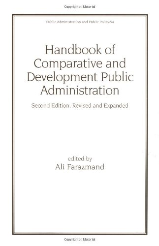 Handbook of Comparative and Development Public Administration Second Edition