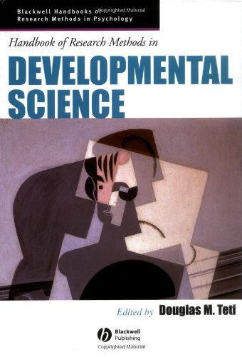 Handbook of Research Methods in Developmental Science (Blackwell Handbooks of Research Methods in Psychology)