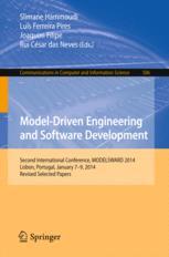 Model-Driven Engineering and Software Development: Second International Conference, MODELSWARD 2014, Lisbon, Portugal, January 7-9, 2014, Revised Sele