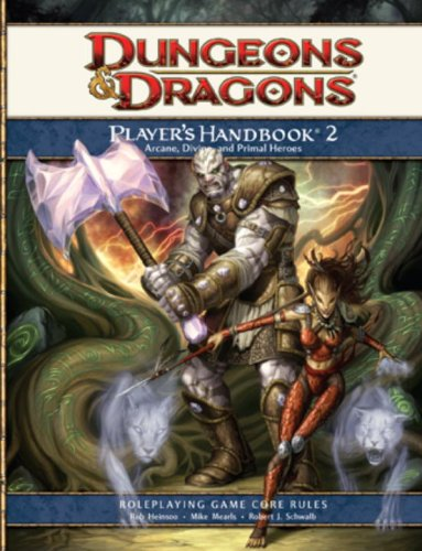 Dungeons & Dragons: Players Handbook 2- Roleplaying Game Core Rules