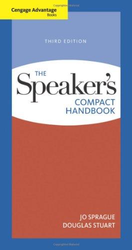 The Speaker's Compact Handbook, Third Edition