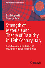 Strength of Materials and Theory of Elasticity in 19th Century Italy: A Brief Account of the History of Mechanics of Solids and Structures