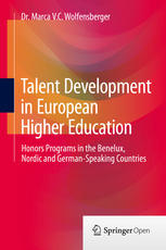 talent development in european higher education: honors programs in the benelux, nordic and german-speaking countries