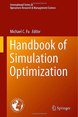 Handbook of Simulation Optimization