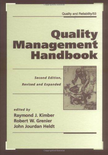 Quality management handbook
