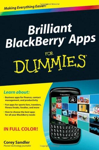 Brilliant BlackBerry Apps For Dummies