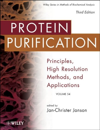 Protein Purification: Principles, High Resolution Methods, and Applications (Methods of Biochemical Analysis)