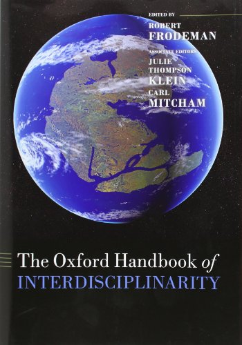 the oxford handbook of interdisciplinarity pdf