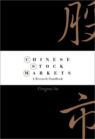 Chinese Stock Markets: A Research Handbook