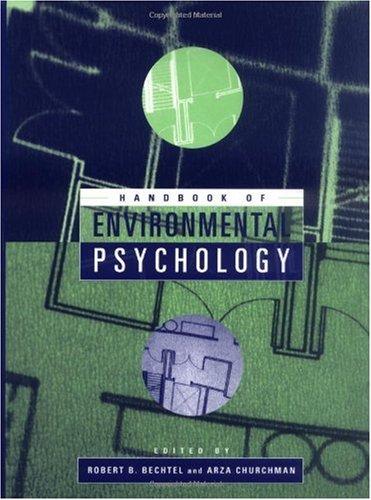 Handbook of Environmental Psychology (2002)(en)(740s)