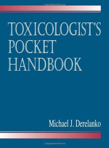 Toxicologist s Pocket Handbook