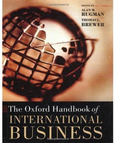 Oxford Handbook of International Business