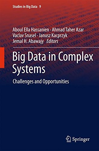 Big data in complex systems : challenges and opportunities