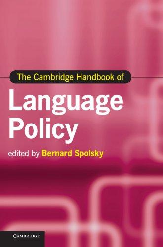 The Cambridge Handbook of Language Policy