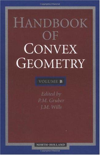 Handbook of convex geometry.