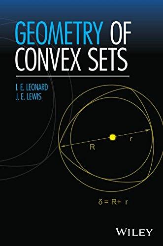 Geometry of Convex Sets