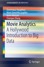 Movie Analytics: A Hollywood Introduction to Big Data