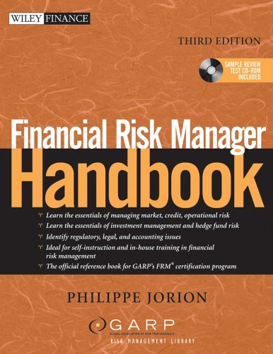 Financial Risk Manager Handbook: Third Edition (Wiley Finance)