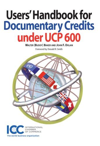 Users handbook for documentary credits under UCP 600