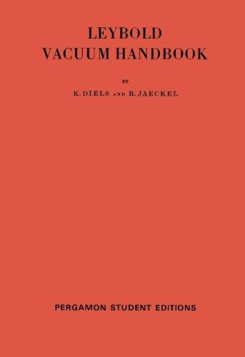 Leybold Vacuum Handbook