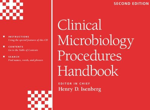 Clinical Microbiology Procedures Handbook 3 Vol Set
