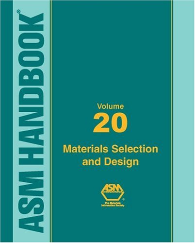 ASM Handbook, Volume 20: Materials Selection and Design