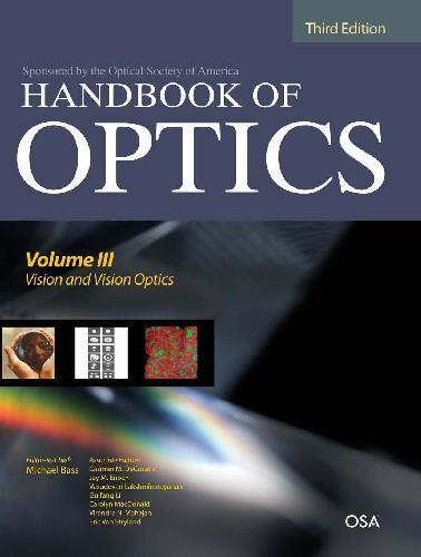 Handbook of Optics; 3rd Edition 2010 Vol III