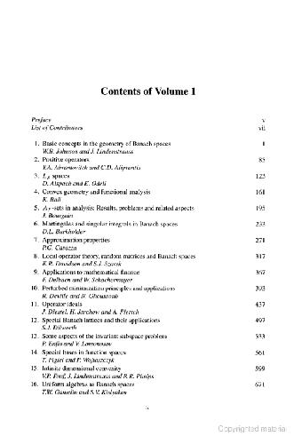Handbook of the Geometry of Banach Spaces: Vol. 2