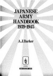 Japanese Army Handbook