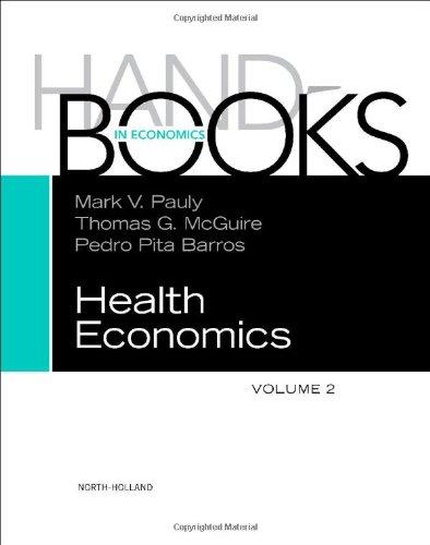 Handbook of Health Economics, Volume 2