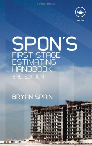Spons First Stage Estimating Handbook (Spons Estimating Costs Guides), 3rd Edition