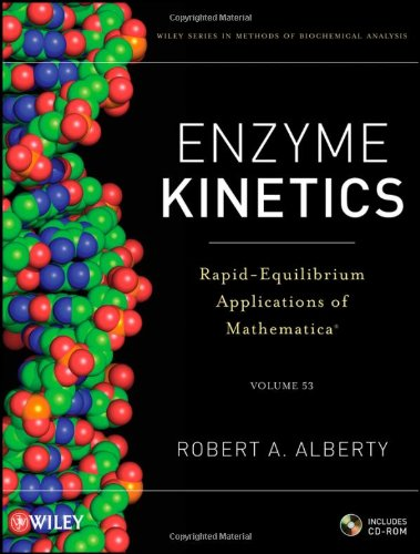 Enzyme Kinetics, includes CD-ROM: Rapid-Equilibrium Applications of Mathematica (Methods of Biochemical Analysis)