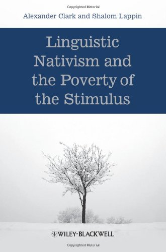 Linguistic Nativism and the Poverty of the Stimulus