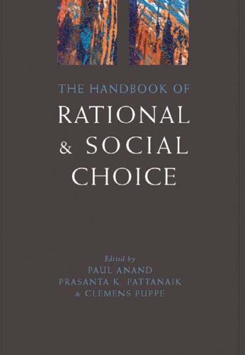 The handbook of rational and social choice