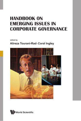 Handbook on emerging issues in corporate governance
