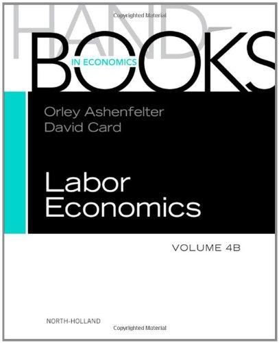 Handbook of Labor Economics, Volume 4B