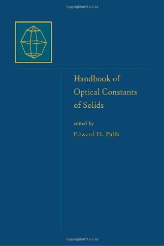 Handbook of Optical Constants of Solids, Volume 5: Handbook of Thermo-Optic Coefficients of Optical Materials with Applications