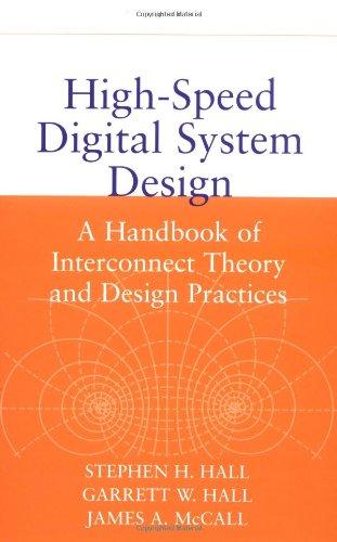 High Speed Digital System Design Stephen H Hall Pdf