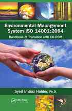 Environmental management system ISO 14001:2004 : handbook of transition with CD-ROM