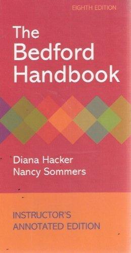 The Bedford Handbook, 8th Edition