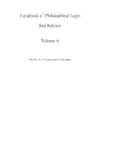 Handbook of philosophycal logic