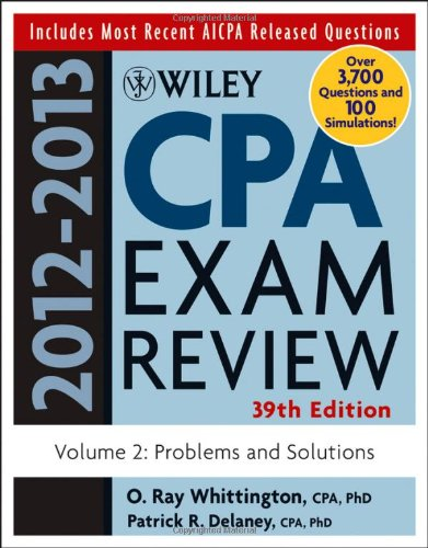 2012 wiley cpa review If you like this wiley cpa review book, i strongly encourage you to get the wiley cpa exam review 2012 test bank 1 year access, auditing and attestation for the practice questions in computerized format however, the wiley book + software combo is still far from the guided review course with lectures and a channel for you to ask a question or.