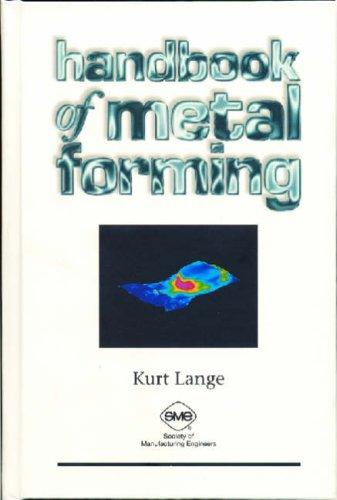 handbook of metal forming kurt lange pdf