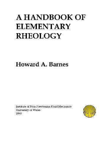 Handbook of elementary rheology