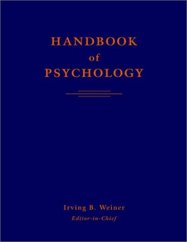 Handbook of psychology. Experimental psychology